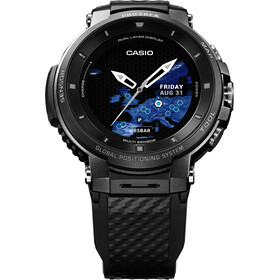 CASIO PRO TREK SMART WSD-F30-BKAAE Smartwatch Men black/black/grey